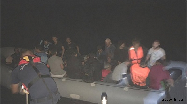 İzmir'de 234 göçmen yakalandı