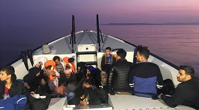 İzmir'de 324 göçmen yakalandı