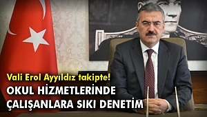 İzmir'de okul hizmetlerinde çalışanlara sıkı denetim