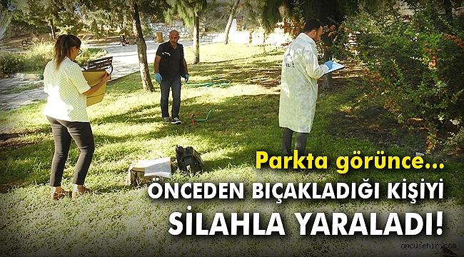İzmir'de parkta oturan kişiye silahlı saldırı!