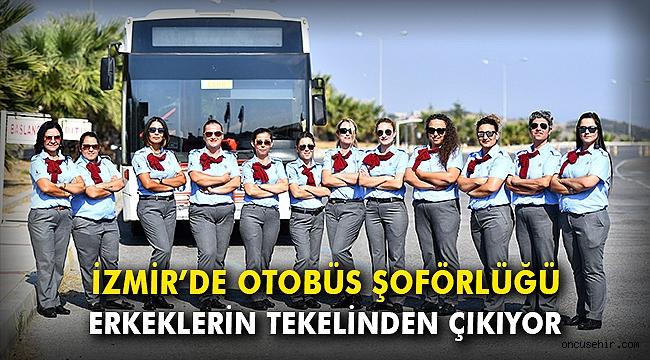 İzmir'de tarihi adım: 17 kadın şoför yollarda