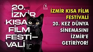 İzmir Kısa Film Festivali 20. kez Dünya Sinemasını İzmir'e getiriyor