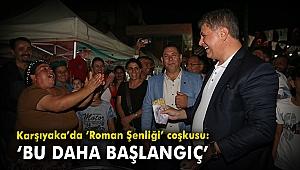 Karşıyaka'da 'Roman Şenliği' coşkusu: 'Bu daha başlangıç'