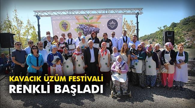 Kavacık Üzüm Festivali renkli başladı