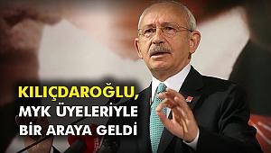 Kılıçdaroğlu, MYK Üyeleriyle bir araya geldi