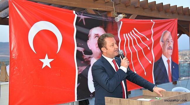 """Menemen Belediye Başkanı Serdar Aksoy: """"Genel Başkanımıza yapılan saldırıyı kınıyorum"""""""