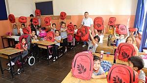 Selvitopu'ndan öğrencilere 'Çevre' temalı armağan