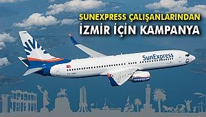 SunExpress çalışanlarından İzmir için kampanya