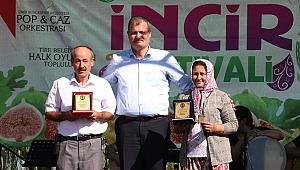 Tire Belediyesi İncir Festivali üreticinin yüzünü güldürdü