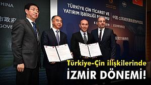 Türkiye-Çin ilişkilerinde İzmir dönemi