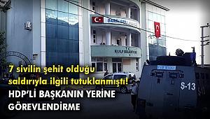 Tutuklanan HDP'li Kulp Belediye Başkanı yerine görevlendirme