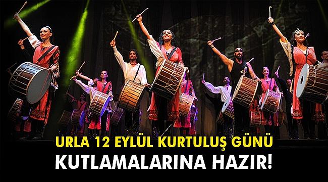Urla 12 Eylül kurtuluş günü kutlamalarına hazır!