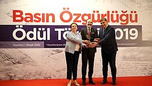2019 Basın Özgürlüğü Ödülü sahibini buldu