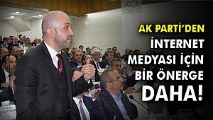 AK Parti'den internet medyası için bir önerge daha!