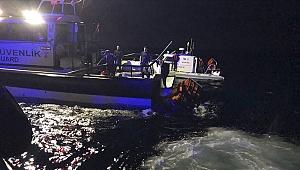 Ayvalık'ta göçmenleri taşıyan tekne battı! 1 çocuk öldü, 1 bebek aranıyor