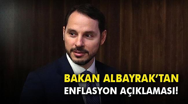 Bakan Albayrak'tan enflasyon açıklaması!