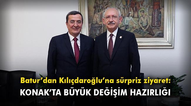 Başkan Batur'dan Kılıçdaroğlu'na sürpriz ziyaret