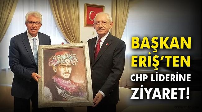 Başkan Eriş'ten CHP Liderine ziyaret