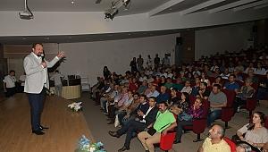 Başkan Gümrükçü geleceğin Çiğli'sini anlattı