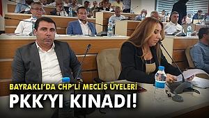 Bayraklı'da CHP'li Meclis Üyeleri PKK'yı kınadı!
