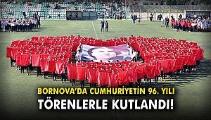Bornova'da Cumhuriyetin 96. yılı törenlerle kutlandı