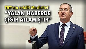 CHP'li Sertel TRT'nin teklifini Meclis'e taşıdı