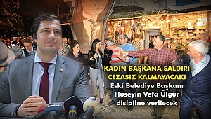 Eski Belediye Başkanı Hüseyin Vefa Ülgür disipline verilecek