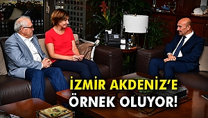 İzmir Akdeniz'e örnek oluyor