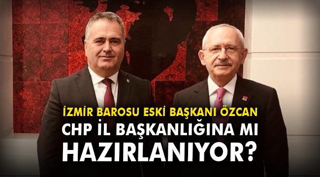 İzmir Barosu Eski Başkanı Avukat Özcan, CHP Genel Merkezi'nde