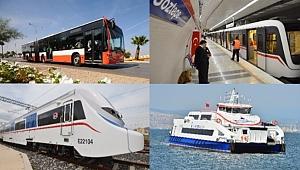 İzmir'de 29 Ekim'de ulaşım ücretsiz!