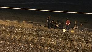 İzmir'de feci ölüm! İZBAN treninin çarptığı yaya öldü