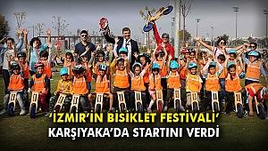 'İzmir'in Bisiklet Festivali' Karşıyaka'da startını verdi