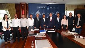 İzmir Milletvekili Purçu'dan Mansur Yavaş'a ziyaret