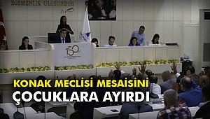 Konak Meclisi mesaisini çocuklara ayırdı