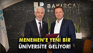 Menemen'e yeni bir üniversite