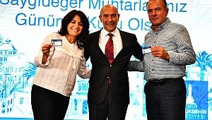 Muhtarlar Gününde İzmirli Muhtarlara güzel haber Büyükşehir'den geldi!