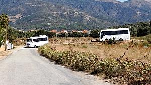 Ödemiş'te okul yolu sıkıntısı sona erecek