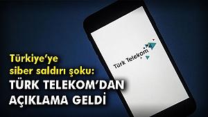 Türkiye'ye siber saldırı şoku: Türk Telekom'dan açıklama geldi