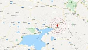 Van'da 4 büyüklüğünde deprem!