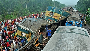 Bangladeş'te tren kazası: 15 ölü, 60'tan fazla yaralı