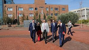 Başkan Arda'dan Dokuz Eylül Koleji'ne ziyaret