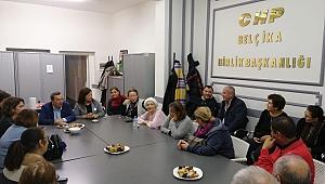 Başkan Batur'dan CHP Belçika Birliğine ziyaret
