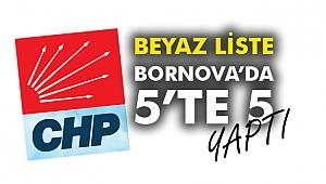 Beyaz Liste Bornova'da 5'te 5 yaptı