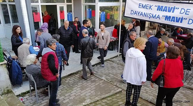 Buca'da delege seçimlerine yoğun katılım!