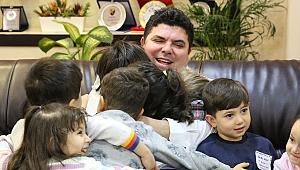 Buca'nın çocuklarından sevgi dolu ziyaret