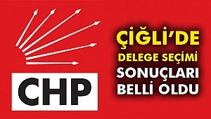Çiğli'de Delege Seçim Sonuçları Belli Oldu