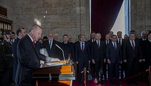 Cumhurbaşkanı Erdoğan: Cumhuriyetimizi ilelebet yaşatmak için tüm gücümüzle çalışacağız