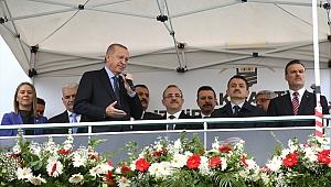 Cumhurbaşkanı Erdoğan: İzmir'e 70 katrilyon yatırım yaptık
