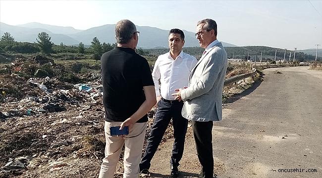 Gaziemir'in molozları Çakaltepe'ye… Moloz sorunu işbirliğiyle ile çözüldü