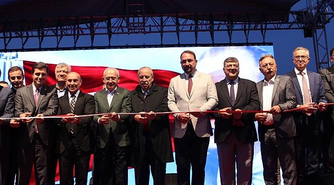 Harmandalı'da çöpten elektrik üreten tesisi Kılıçdaroğlu açtı!